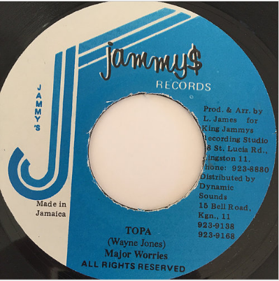Major Worries(メジャーウォリーズ) -Topa【7'】