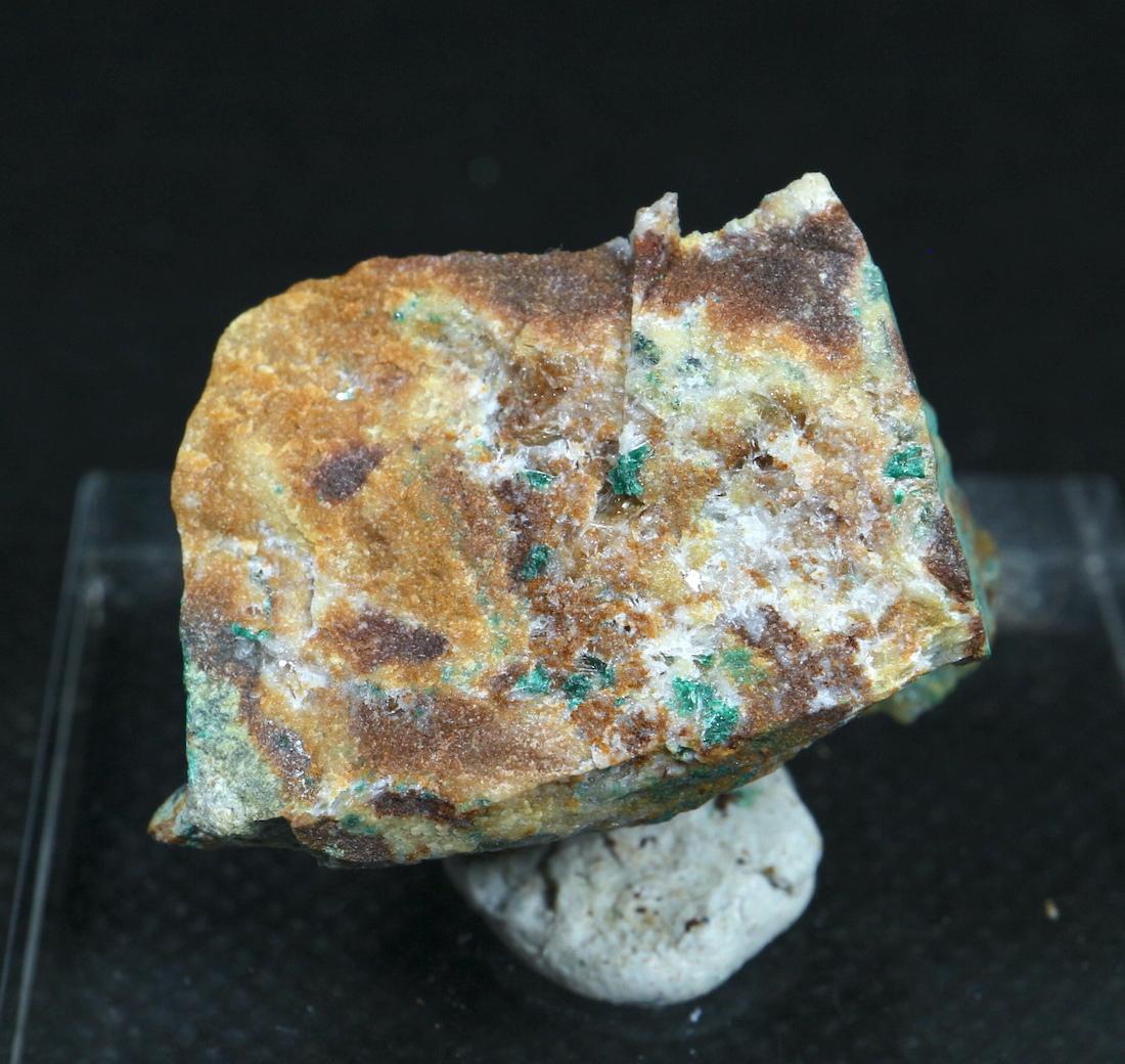 オリーブ銅鉱 Olivenite ユタ州産 14,5g OLV001 原石 天然石 鉱物 パワーストーン