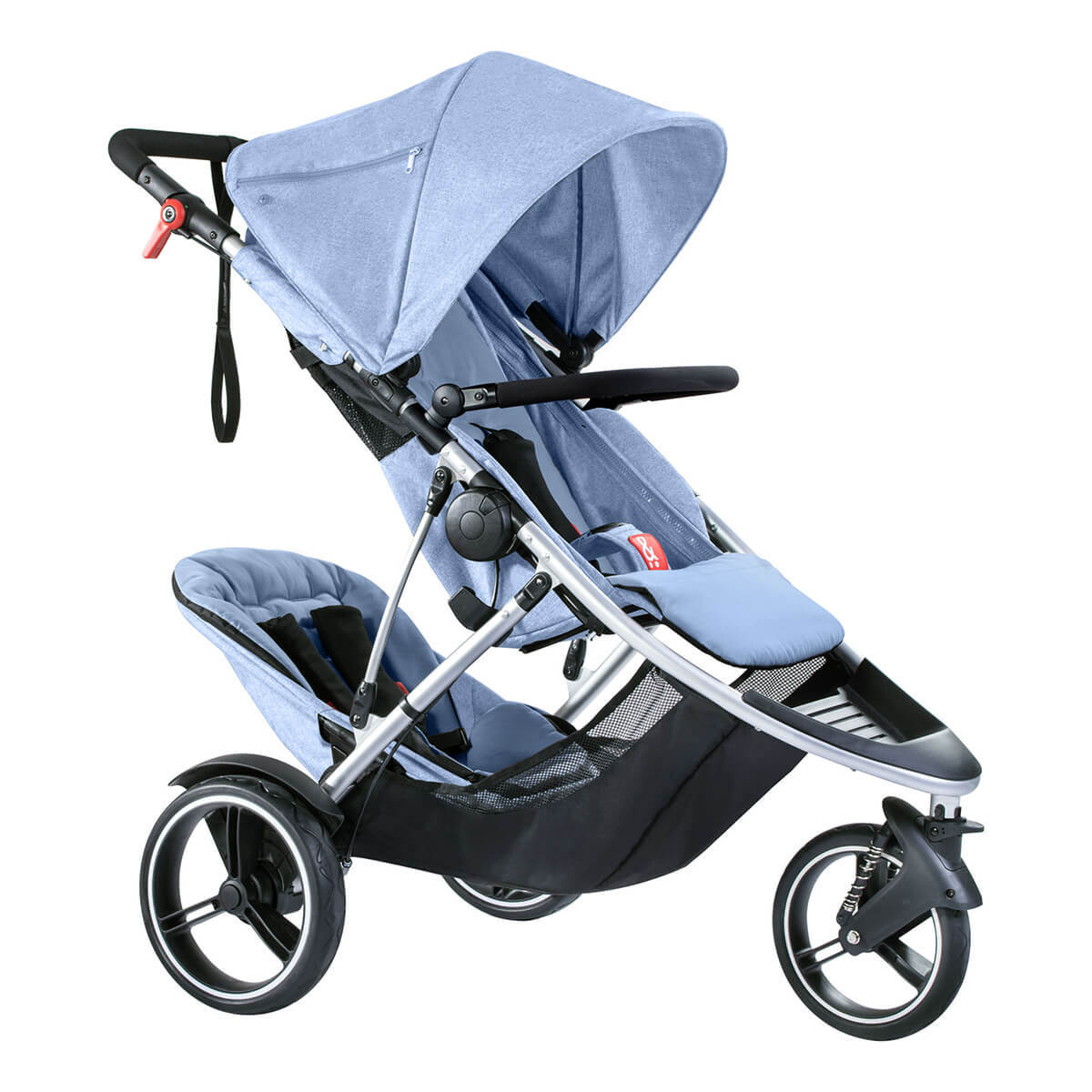 phil&teds Dash buggy Blue Marl  フィルアンドテッズ ダッシュ