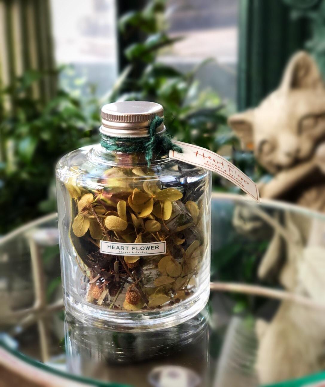 フラワーボトル natural - made by Heartflower
