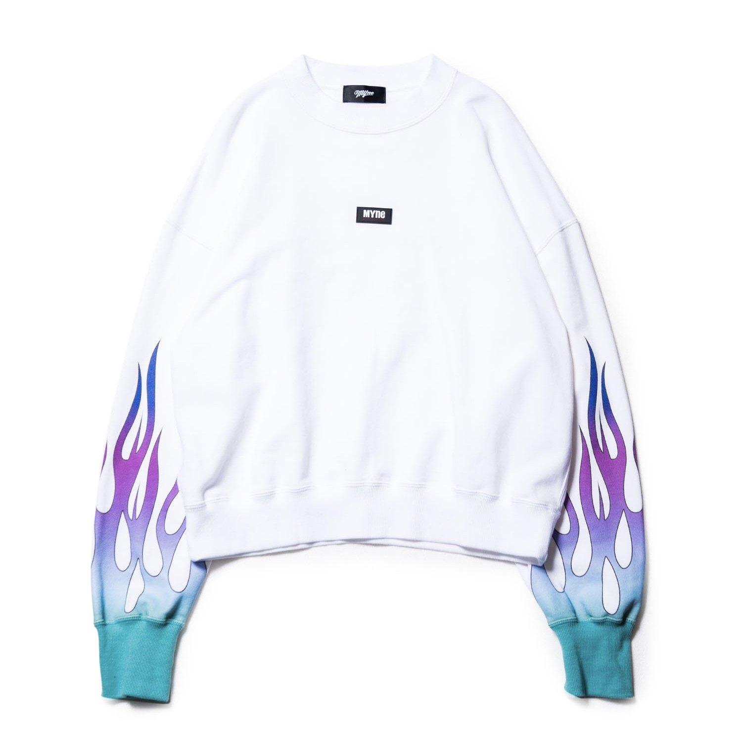 Fire sweat pullover / WHITE - 画像1