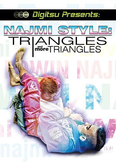 トライアングルス&モアトライアングルス エドウィン・ナジミ DVD|ブラジリアン柔術教則DVD