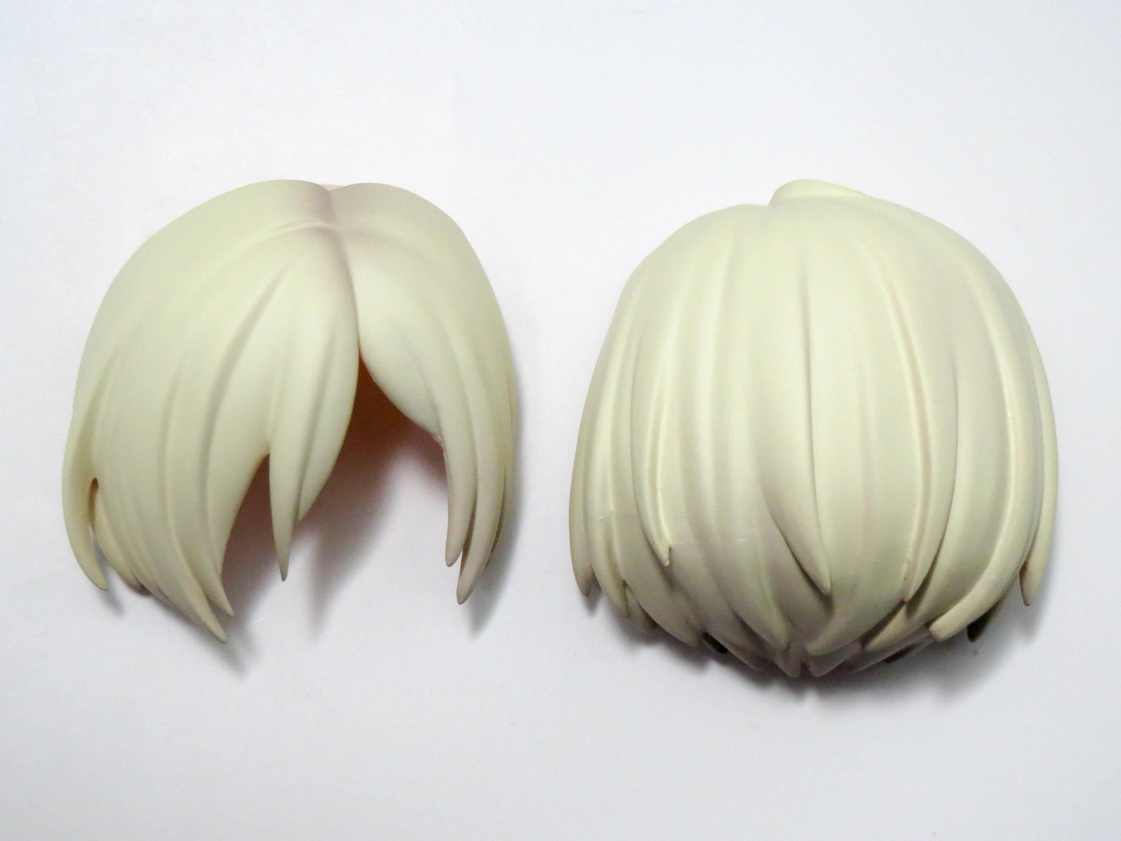 再入荷【799】 ユーリ・プリセツキー 髪パーツ セミロング ねんどろいど