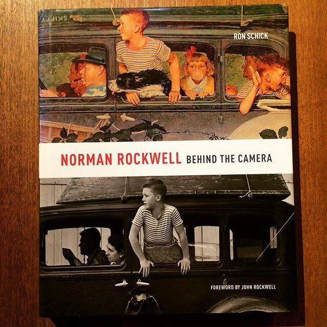 画集「Norman Rockwell: Behind the Camera」 - 画像1
