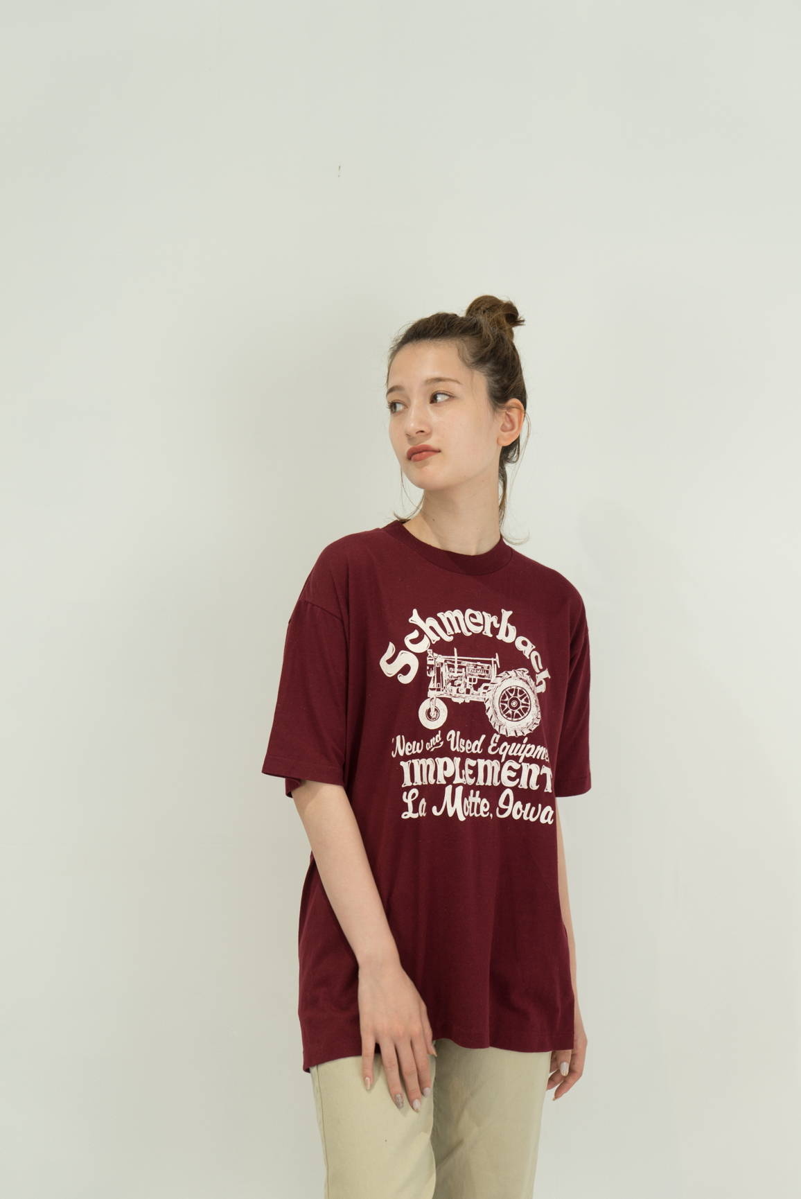 ◼︎80s vintage Iowa tractor T-shirts from U.S.A.◼︎