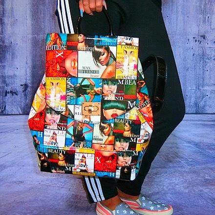 Bgnee select La magazine bag