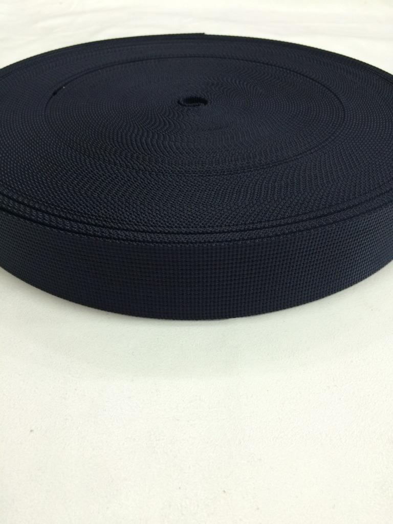 ナイロンテープ  12本トジ織  38mm幅  1.5mm厚  カラー(黒以外) 1反(50m)