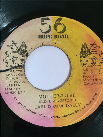 Earl 'Sixteen' Daley(アールシックスティーン) - Mother To Be【7'】
