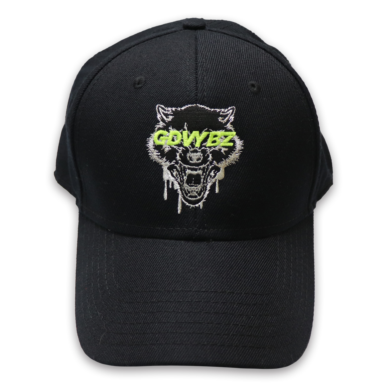 GDVYBZ RELOADED WOLF CAP - BLACK
