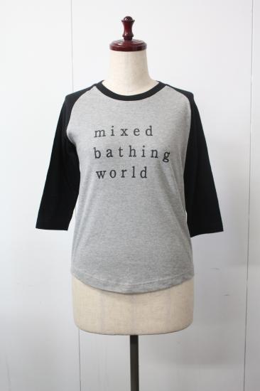 混浴温泉世界  ラグランスリーブ