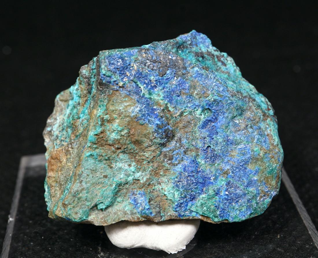 リナライト & カレドナイト 青鉛鉱 カレドニア石 17,2g LN025 鉱物 原石 天然石 パワーストーン