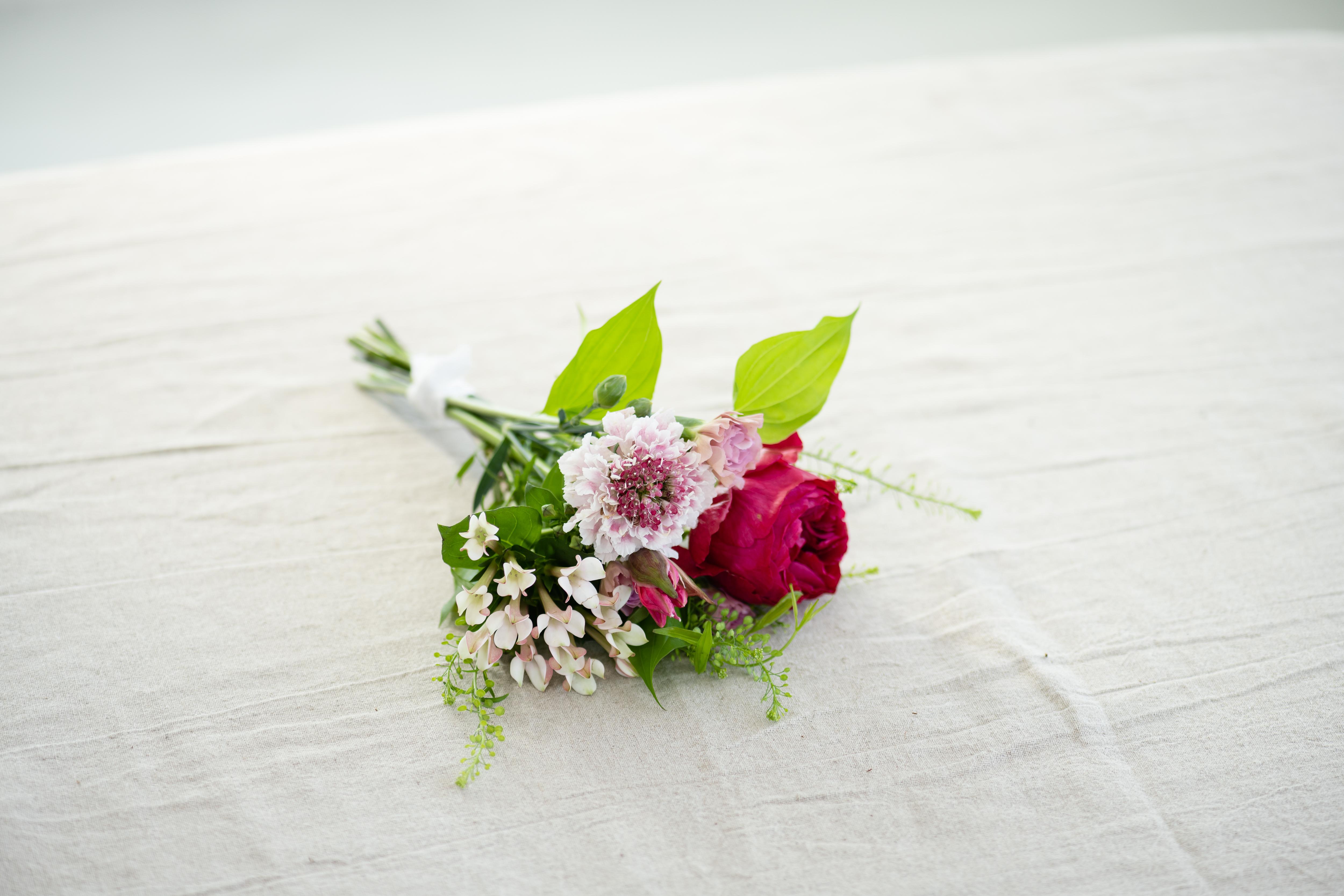 小さな季節の花束 pink