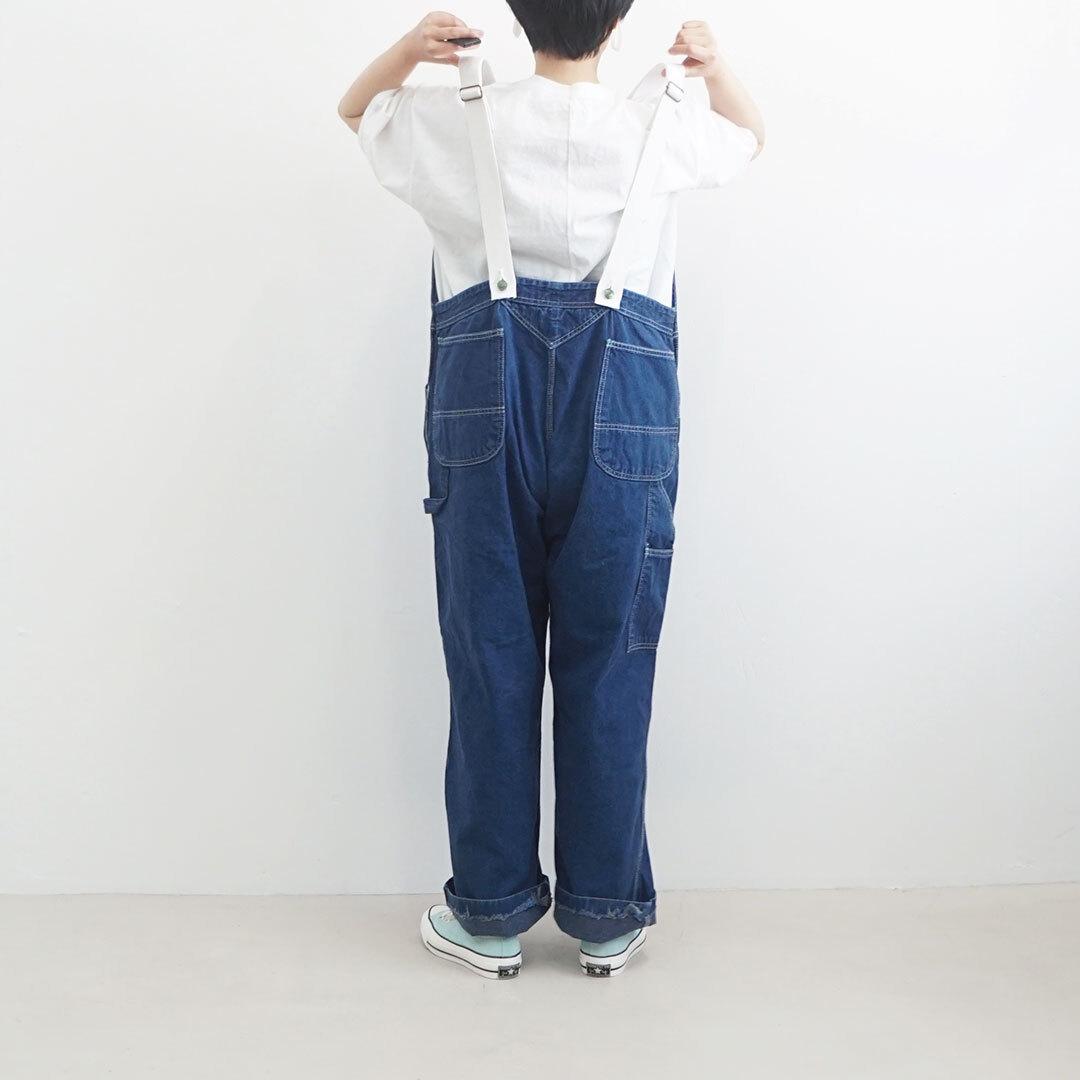 【再入荷時期未定】 used remake overall ユーズドリメイクオーバーオール (品番ssu-pts-0219)