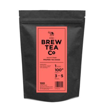 BREW TEA Co. ブリューティーカンパニー tea bag ティーバッグ 100個入り Chai Tea チャイティー