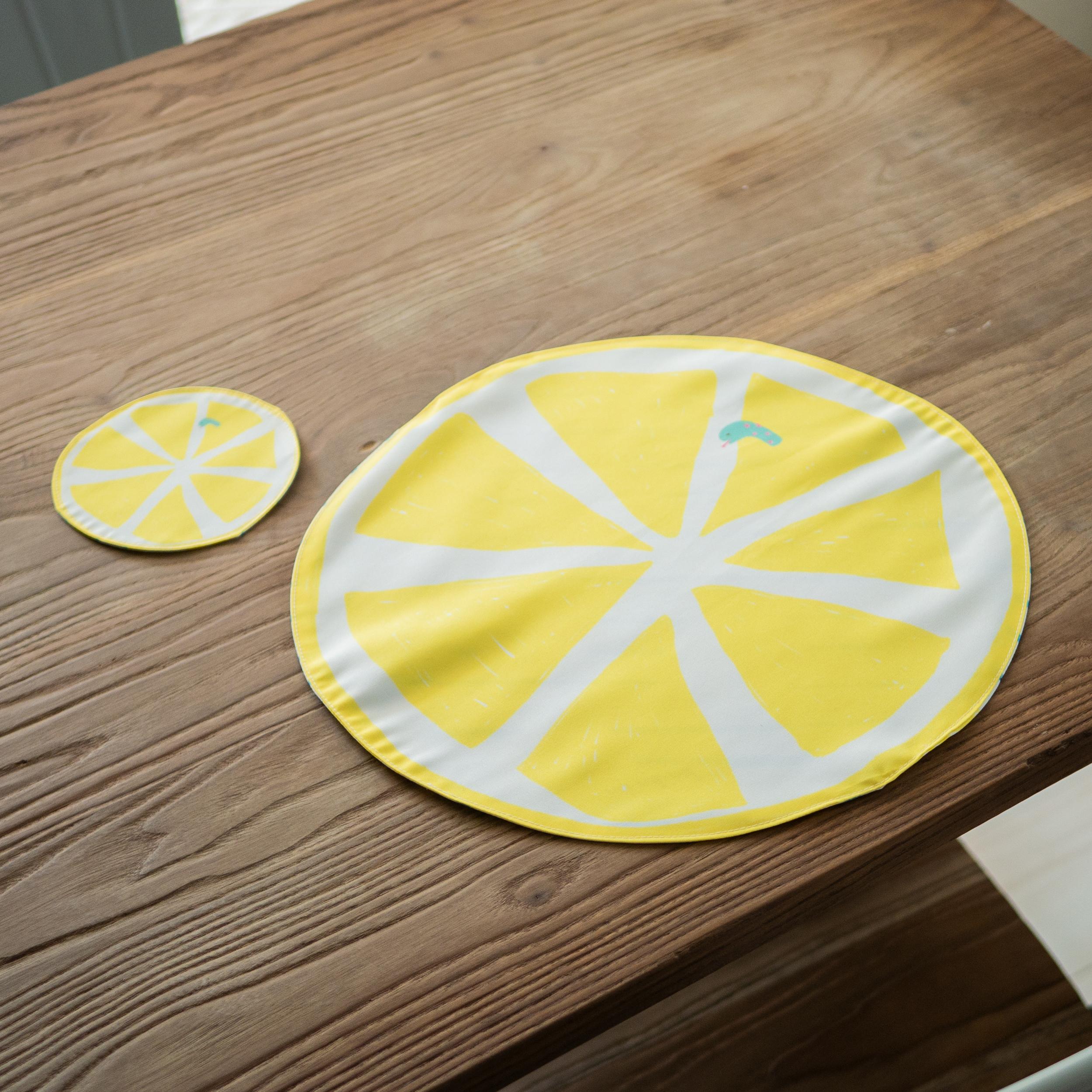 ランチョンマット 爽やかレモン
