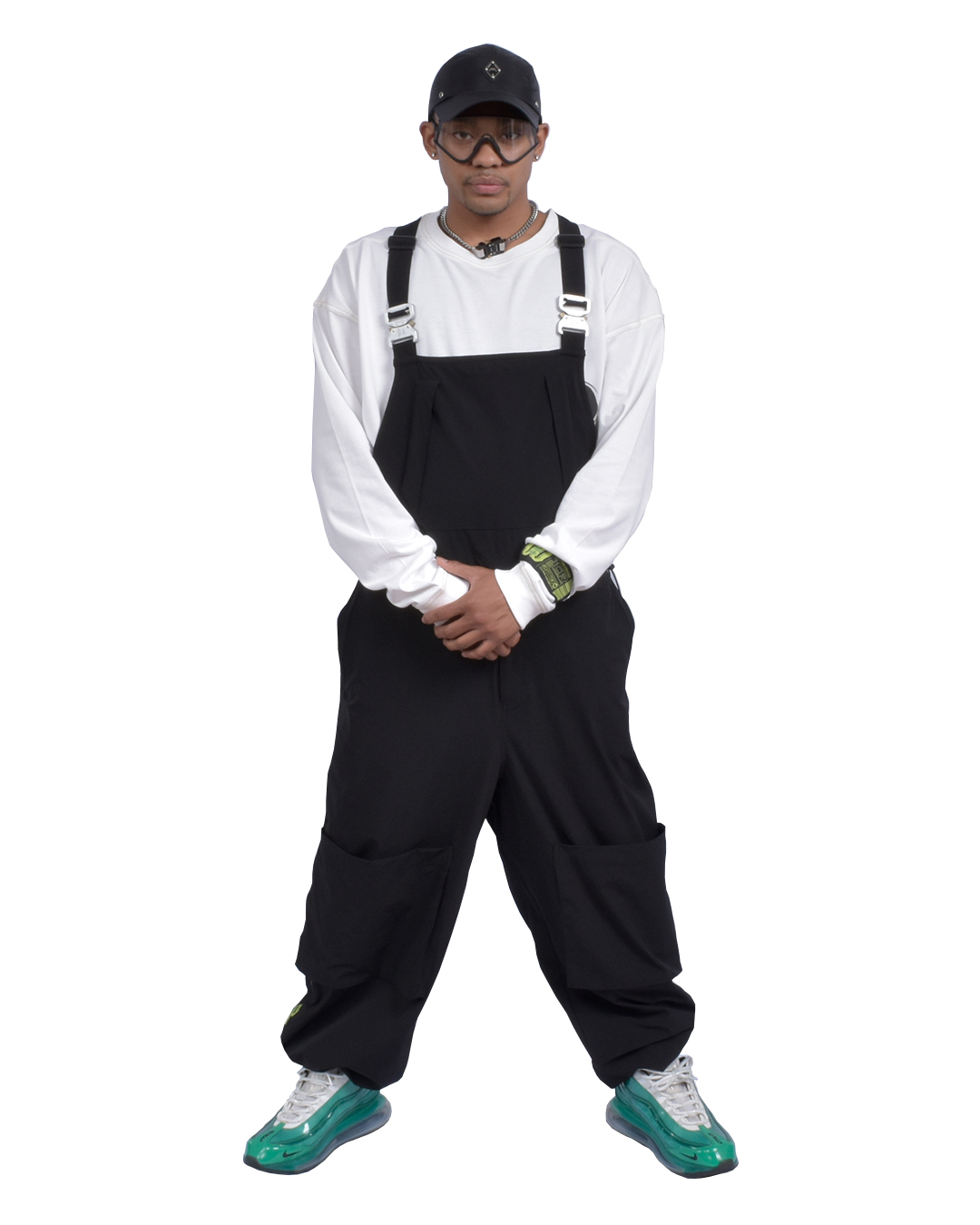TCR EQUIPMENT SHELL OVERALL  - BLACK
