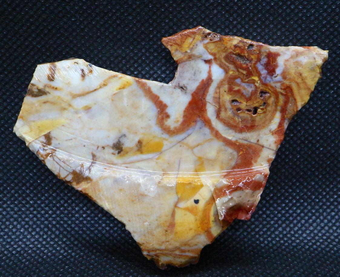 レインボー カルセドニー 61,4g RCD009 玉髄 鉱物 原石 天然石 パワーストーン