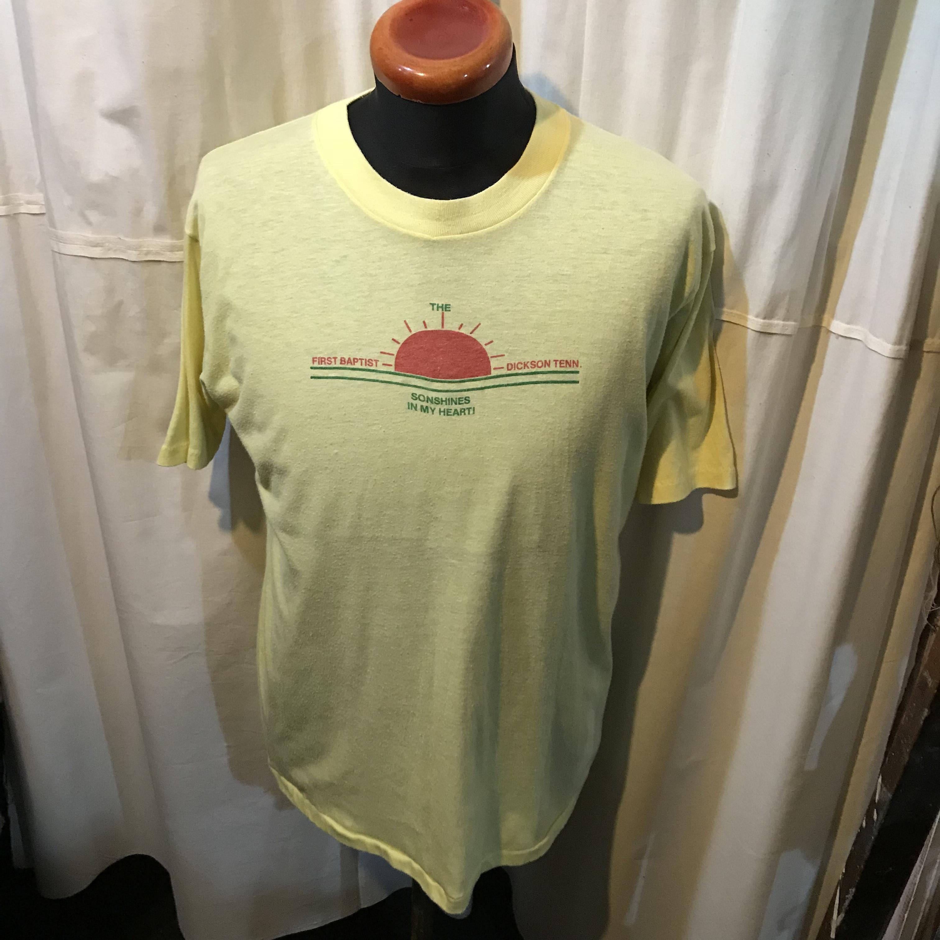 70's vintage アメリカ製 Velva Sheen 半袖Tシャツ メンズM~L