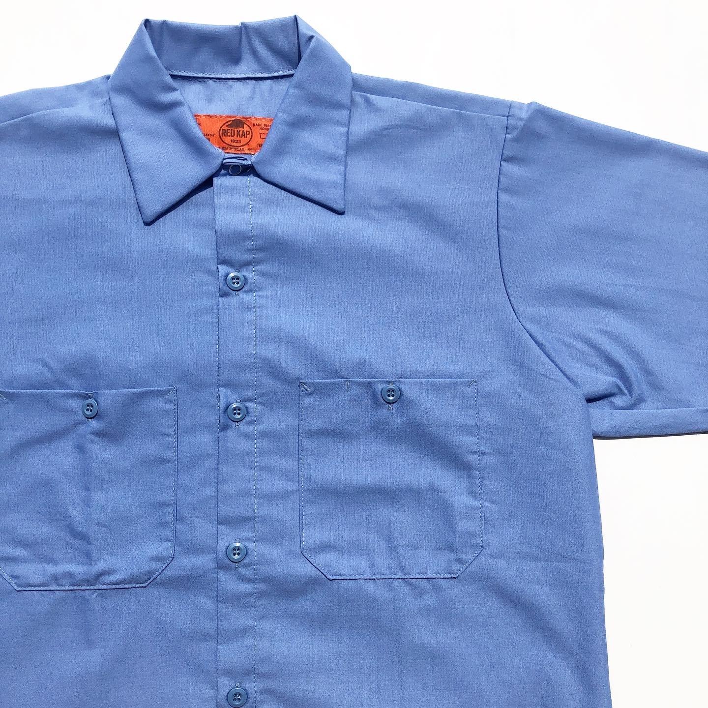"REDKAP ""Short Sleeve Work Shirts""  レッドキャップ""ショート・スリーブ ワークシャツ"""