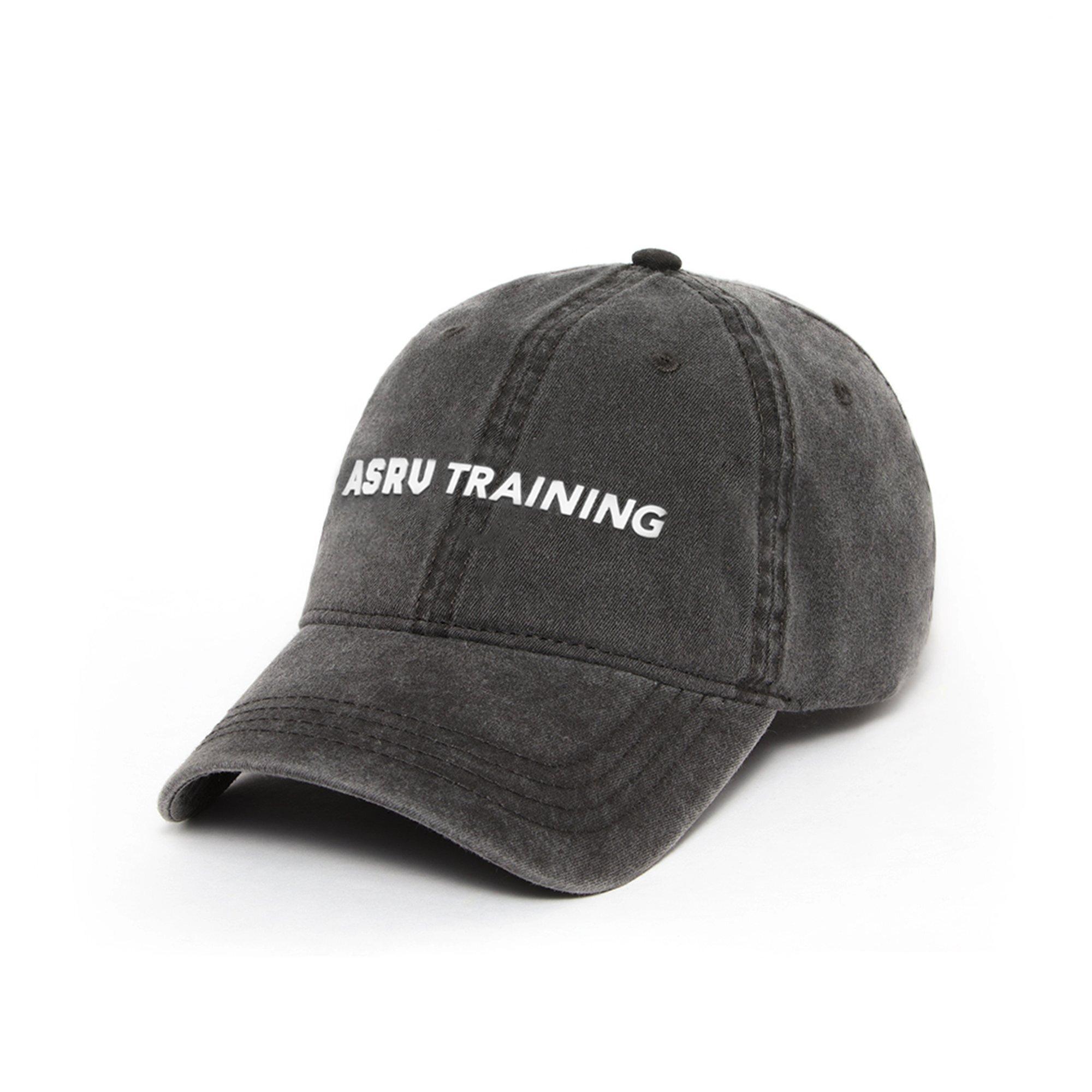 【ASRV】ガーメントダイトレーニングロゴキャップ - Grey/White