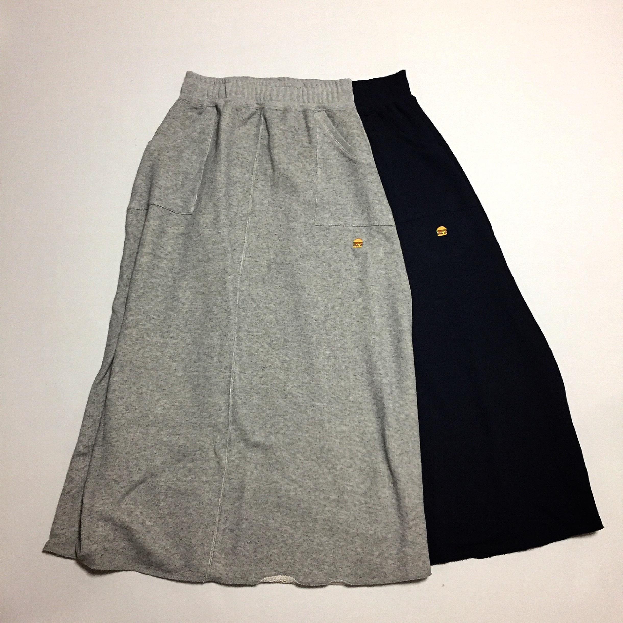 Burger Long Skirt