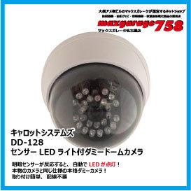 暗視センサー搭載LEDダミードームカメラ DD-128