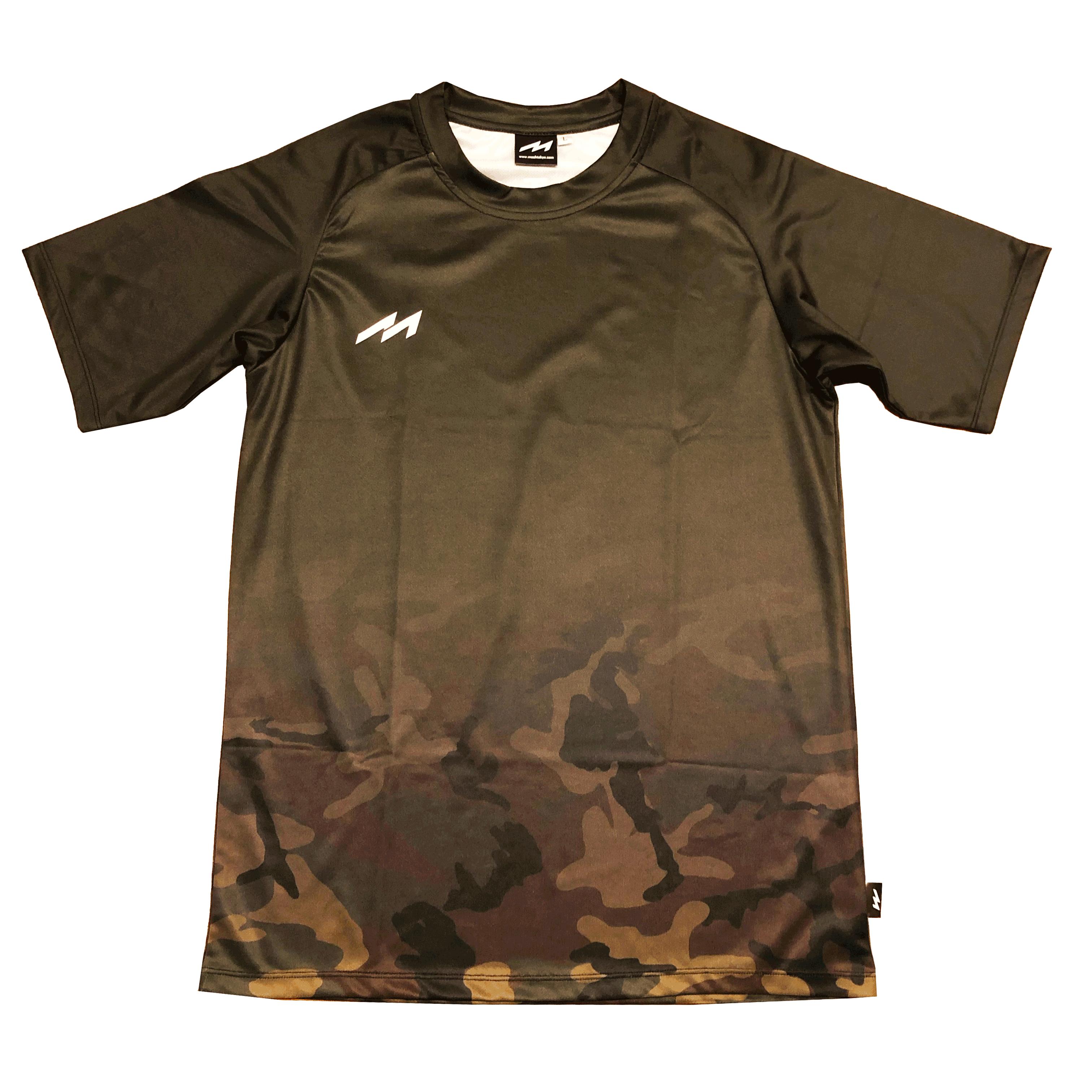 Fade Camo Shirts (MHS-2013 D-GRN)