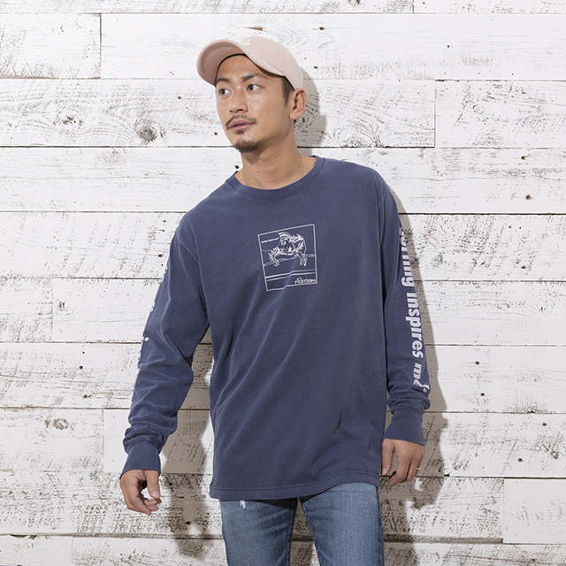 SURFING INSPIRES ME COMIC LONG T-shirt[REC129]