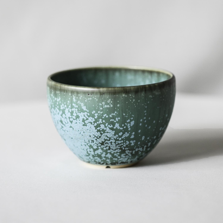Turquoise glaze bowl pot(S)