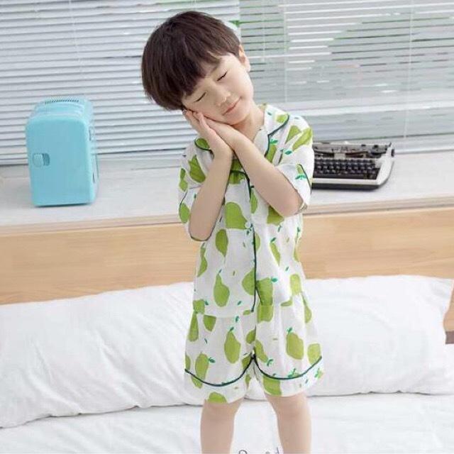 洋なし柄パジャマ【R005】