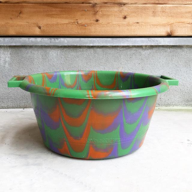 Africa Plastic marble pattern bucket アフリカ マーブル プラスチック バケツ15L