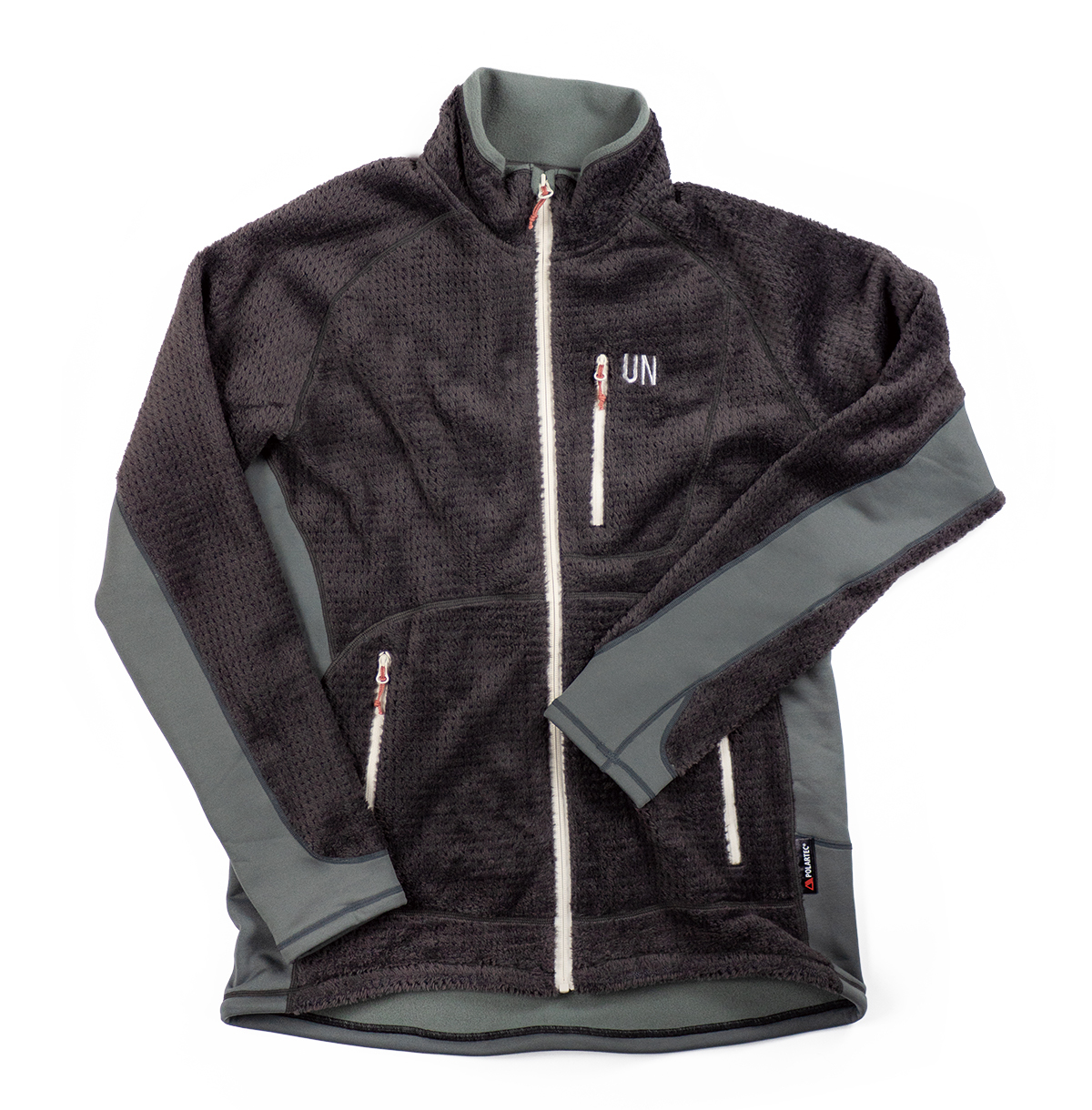 UN3400 High Loft fleece jacket / Charcoal