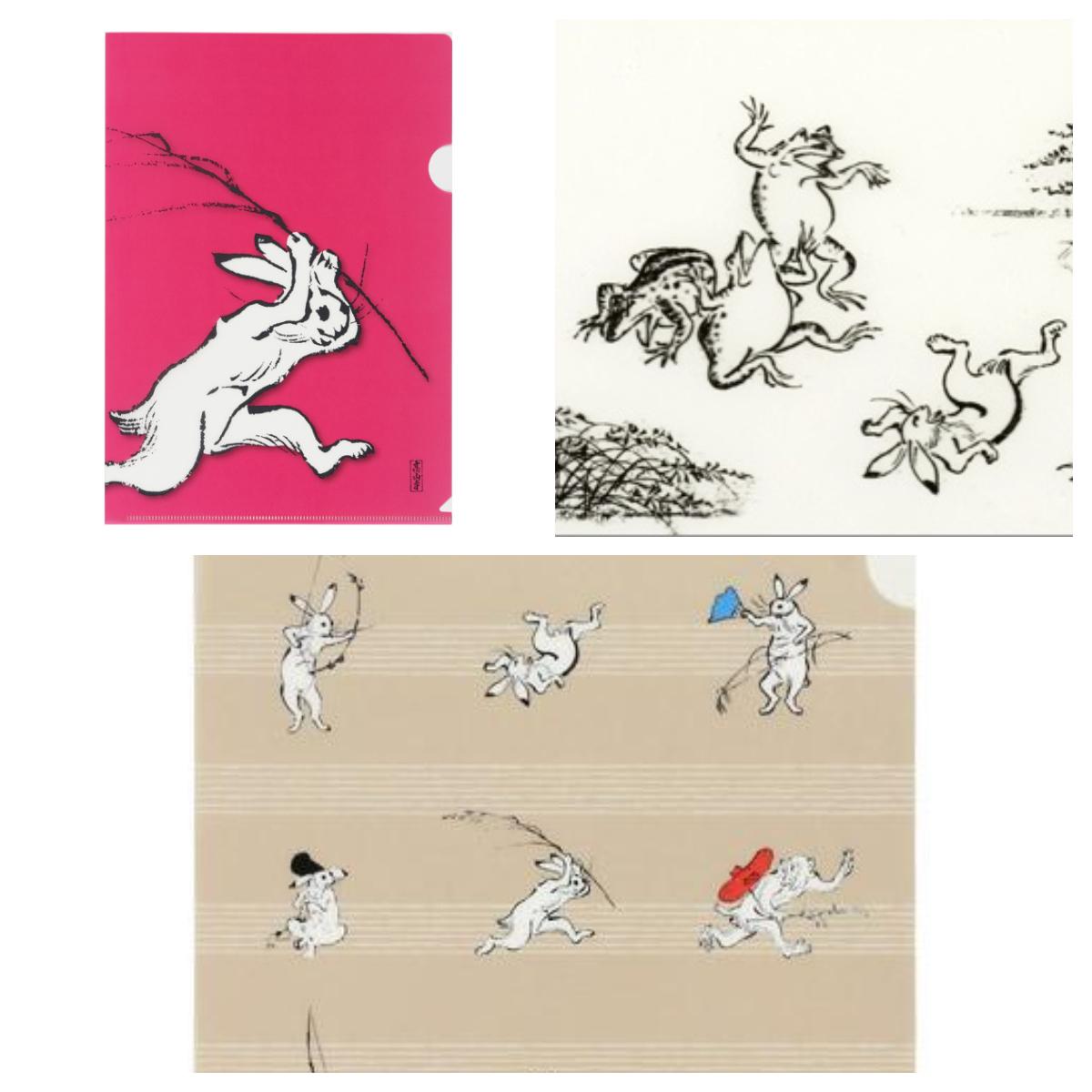 鳥獣戯画 A4ファイル