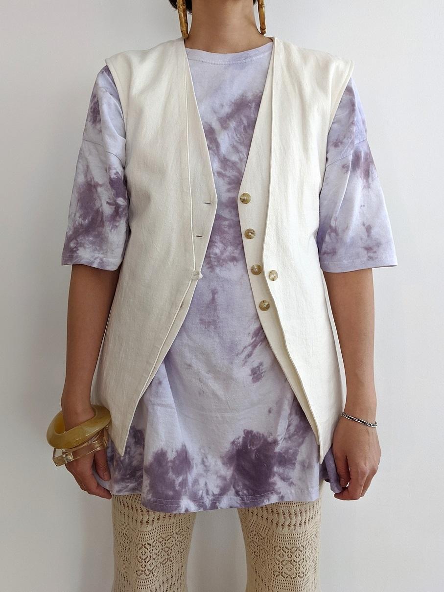 L&C Layered Vest - White