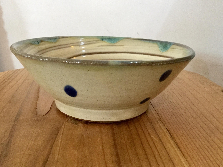 鉢5寸刷毛目 ノモ陶器製作所