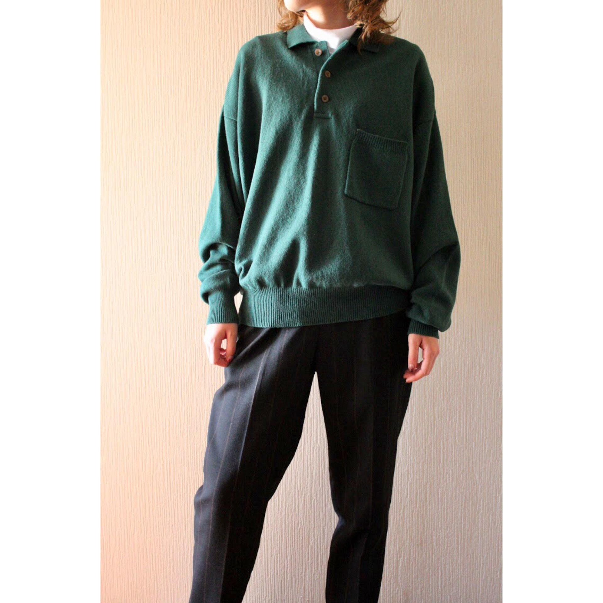 Vintage pocket sweater