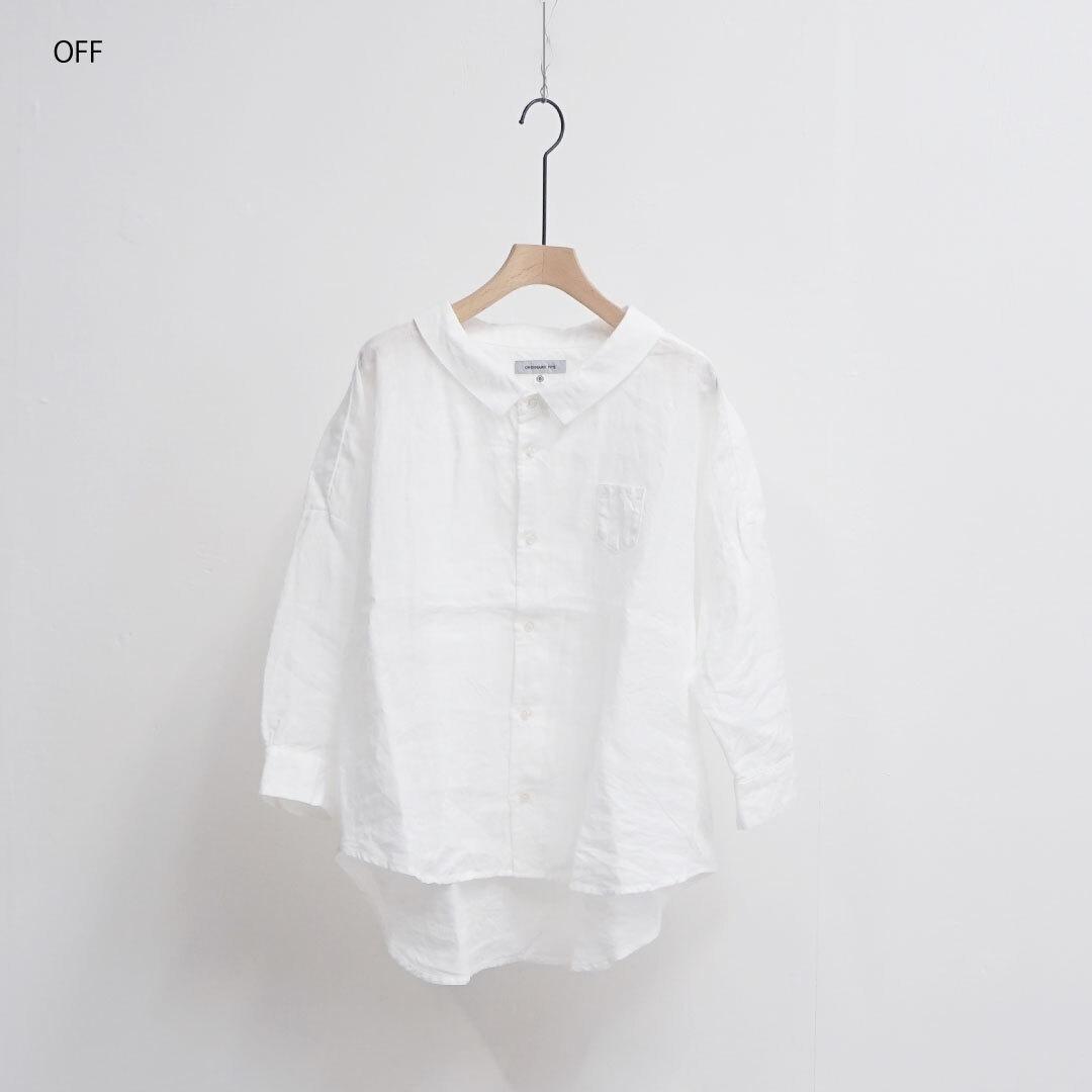 【再入荷なし】 ORDINARY FITS オーディナリーフィッツ BARBER SHIRT バーバーシャツ (品番of-s009)