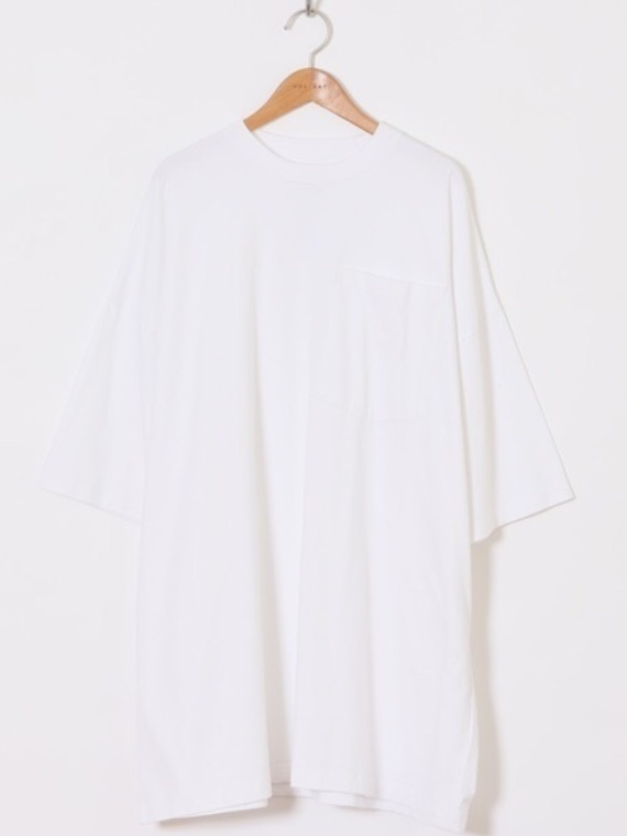 【HOLIDAY】SUPER FINE DRY POCKET BIG T-SHIRT