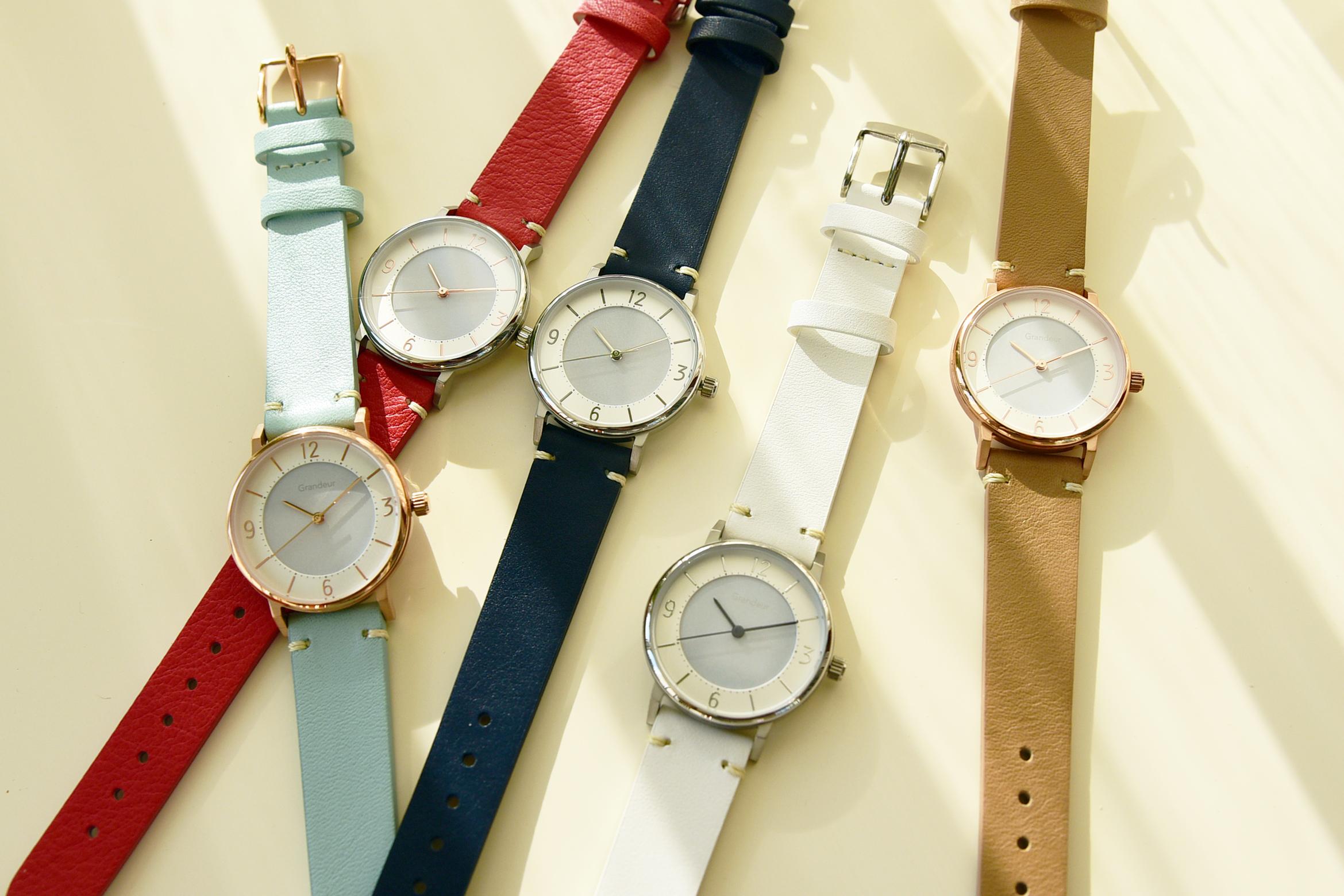 腕時計GRANDEUR - GSW005 (SOLAR WATCH)