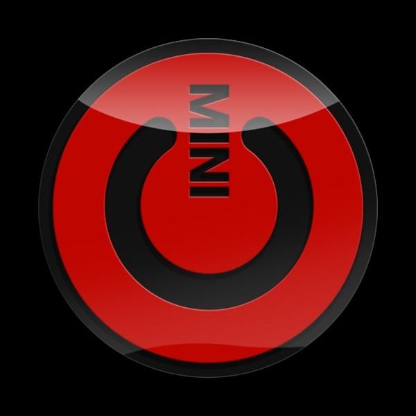 ゴーバッジ(3D)(LC0035 - 3D MINI POWER RED) - 画像1