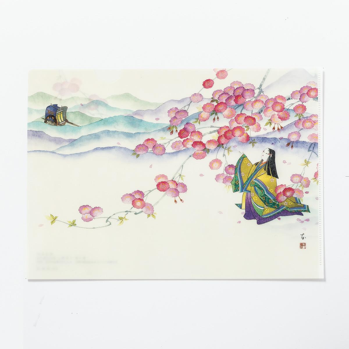 源氏物語クリアファイル 5帖「若紫」