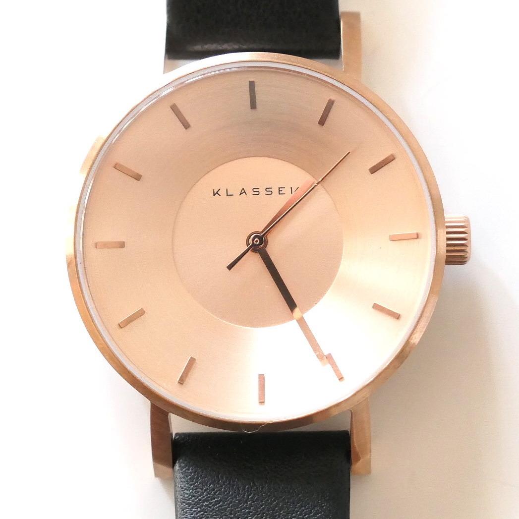 y[k04]クラス14 腕時計 VO14RG001W 最高級レザー 36mm