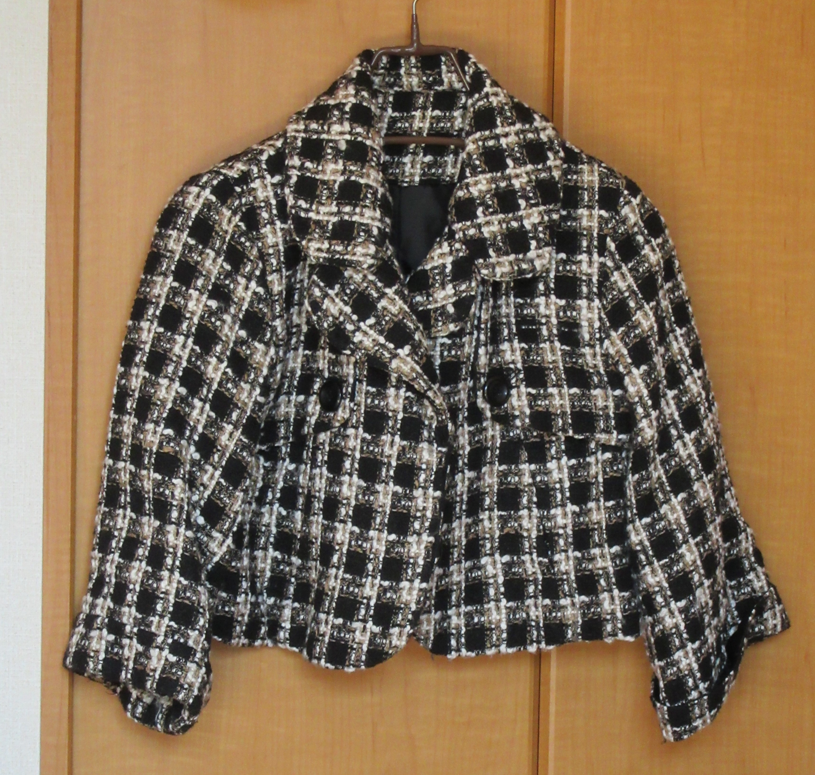 ショート ジャケット ツイード リセール商品