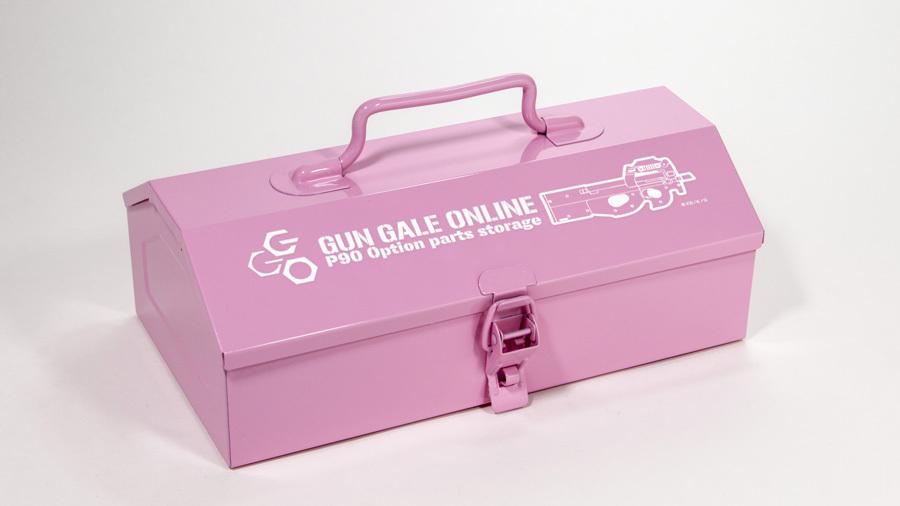 SAO オルタナティブ ガンゲイル・オンライン GGO山型ツールボックス  TAN&PINK /  グルーヴガレージ