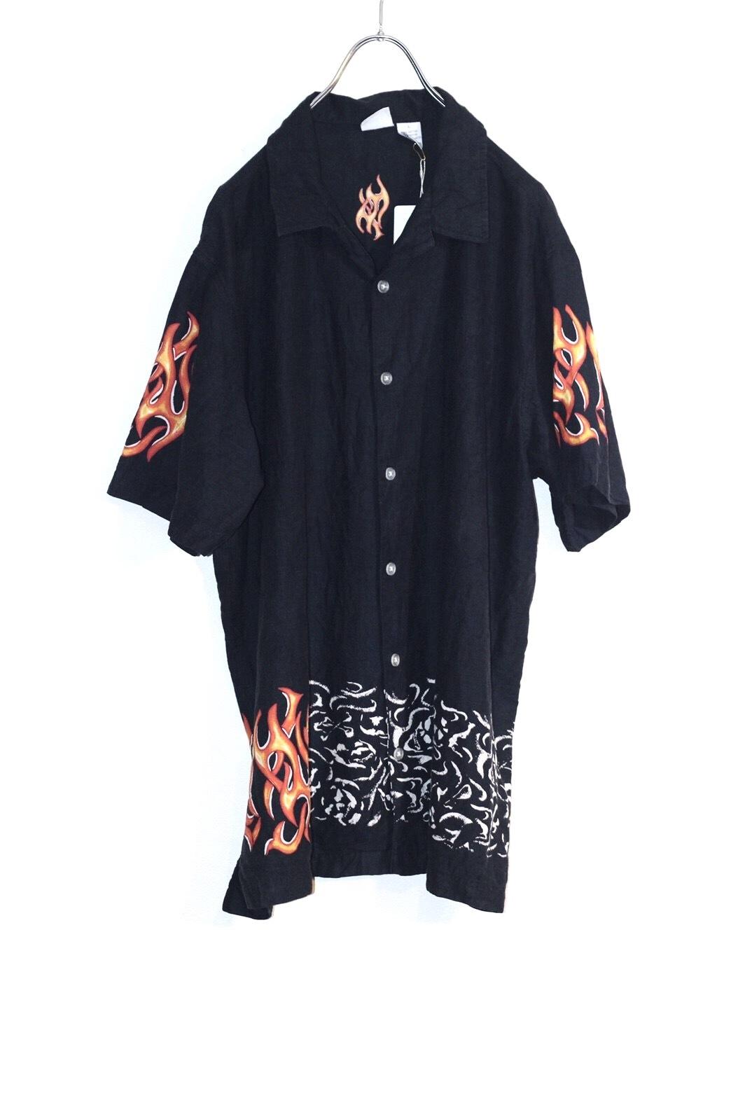 fire pattern shirt