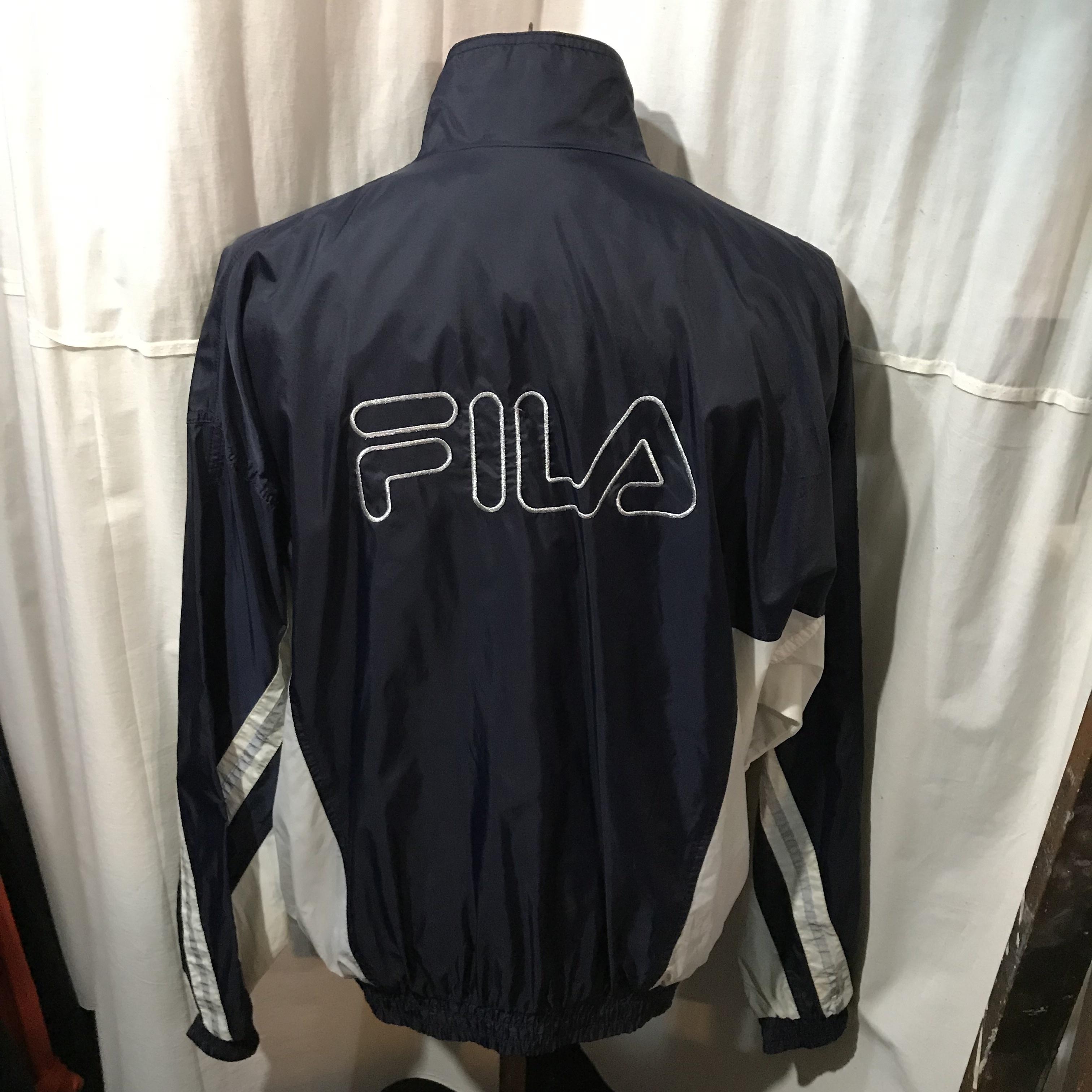 FILA フィラ ナイロンジップジャケット メンズL~XL