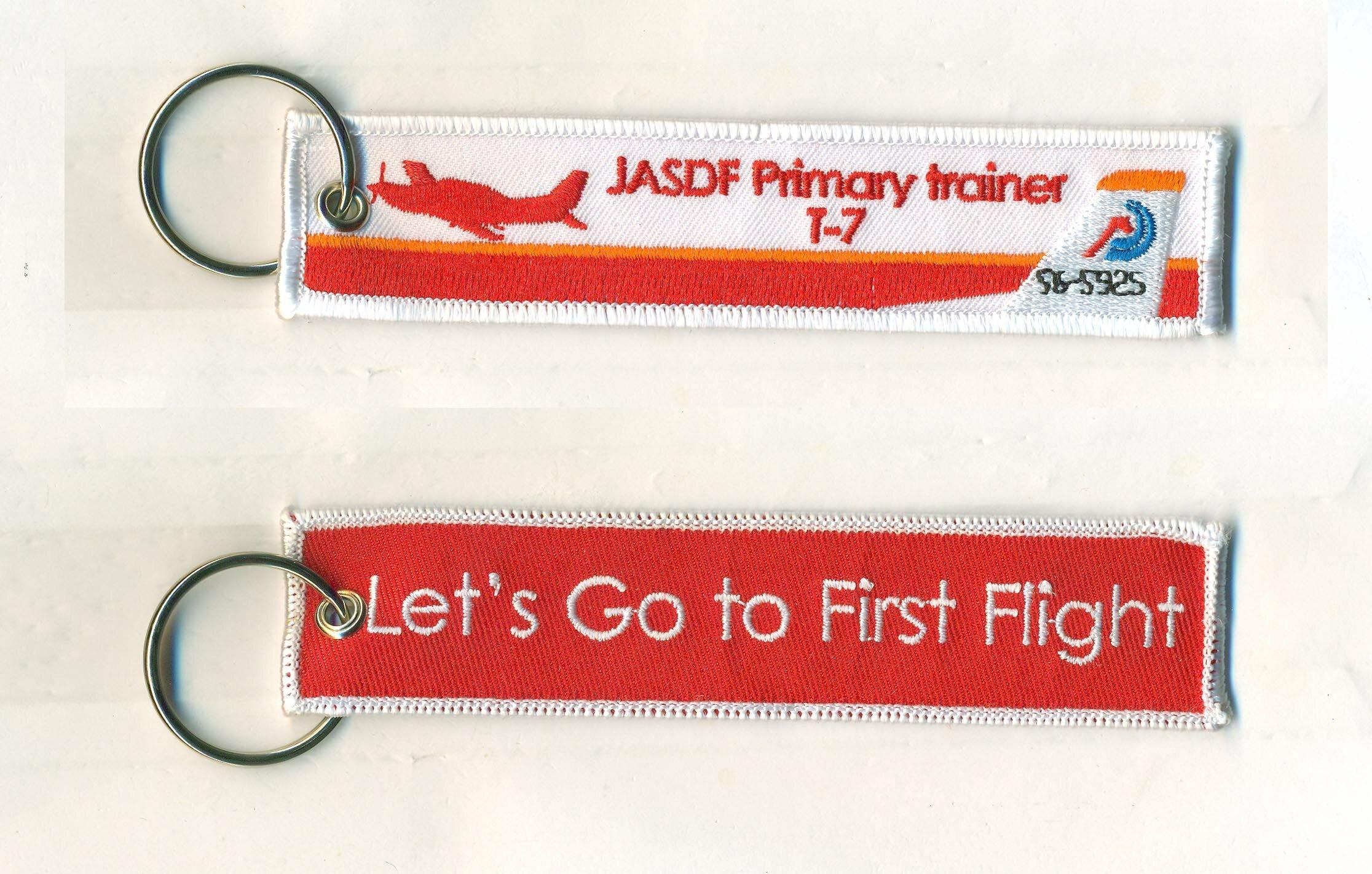 Let's GO to Fast Flightキーホルダー/JASDF T-7