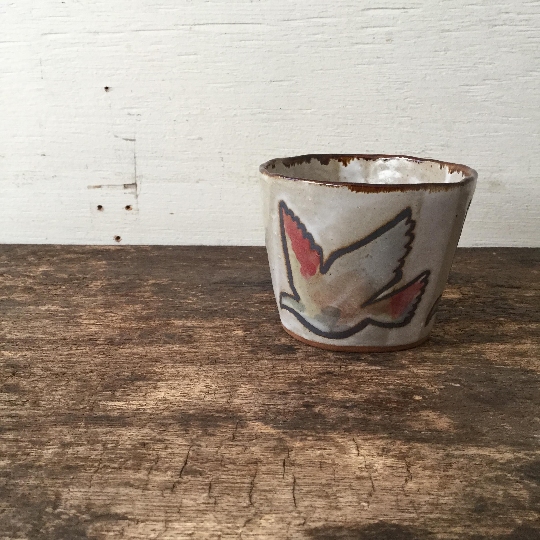 清水直子 / フリーカップ ハト SN-1 - 画像1