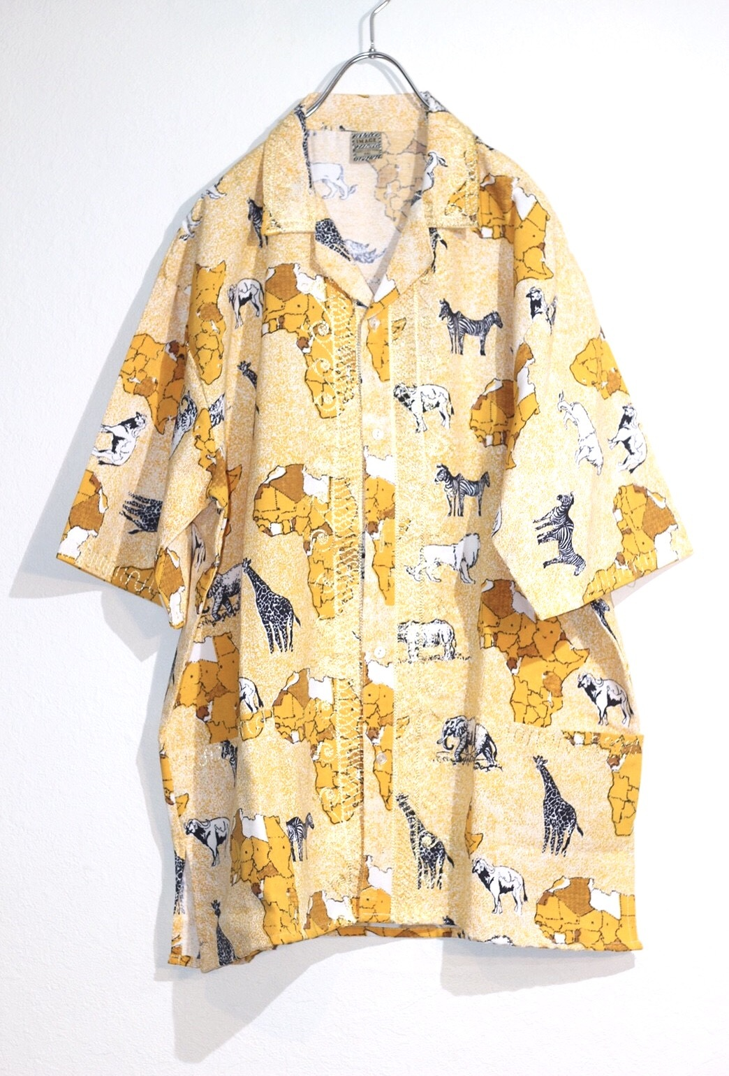 animal pattern shirt
