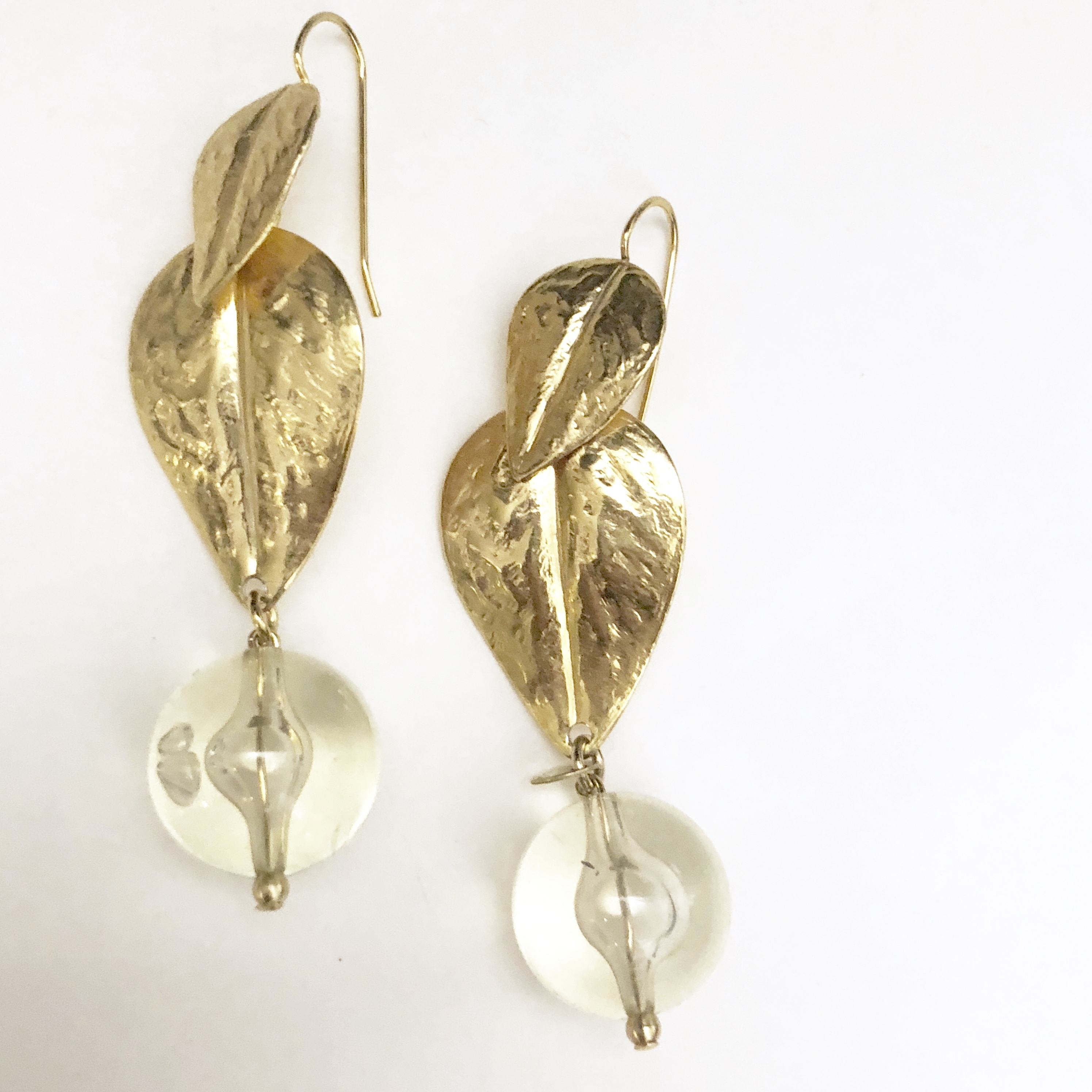 W Leaf beads piece No.702*